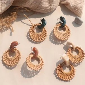 Sand in Stone Earrings